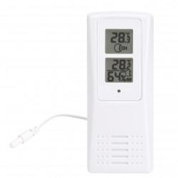 Temperatur- og fugtighedsmåler med føler