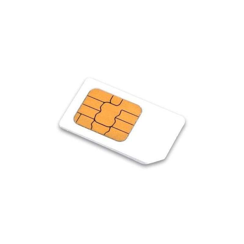 SIM-kort med dataabonnement til GPS-tracking og alarm