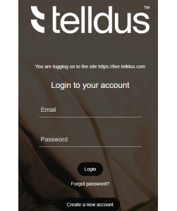 Telldus Live! Smart Home Manager