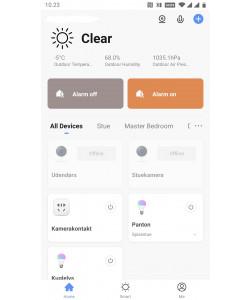 Tuya/Smart Life App åbningsbillede