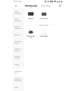 Tuya/Smart Life App - tilmeld fjernsyn (eller autoscan)