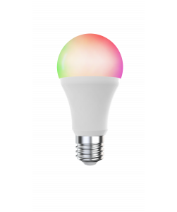 æmpbar LED pære med hvidt og farvet lys (WiFi) til Tuya/Smart Life App