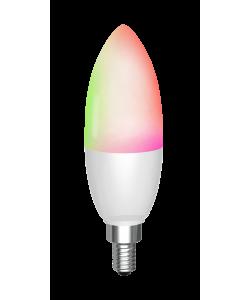 Dæmpbar LED pære med hvidt og farvet lys (WiFi) til Tuya/Smart Life App