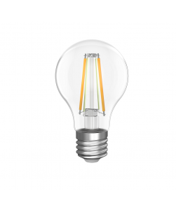 Dæmpbar LED filamentpære med gyldent/hvidt lys (WiFi) til Tuya/Smart Life App