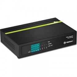 Switch med strømforsyning til kameraer og IP-telefoner